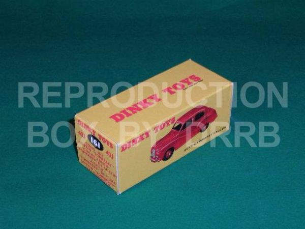 Dinky #161 Austin Somerset - Reproduction Box (  Red )